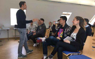 Freiburger Rocker:innen lernen Fundraising
